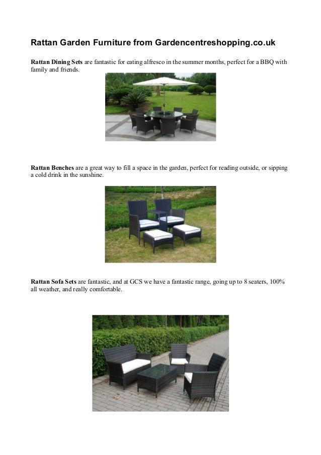 Rattan Garden Furniture Catalogue