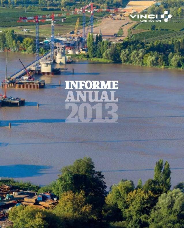 VINCI Construction Informe anual 2013