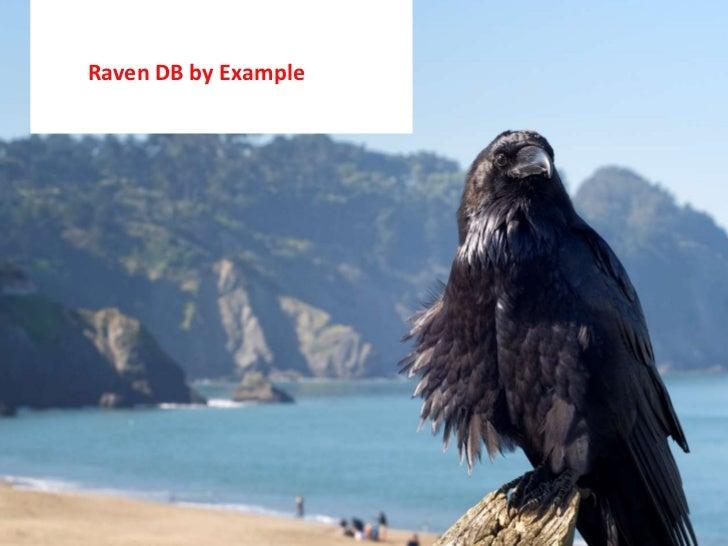Raven db byexample