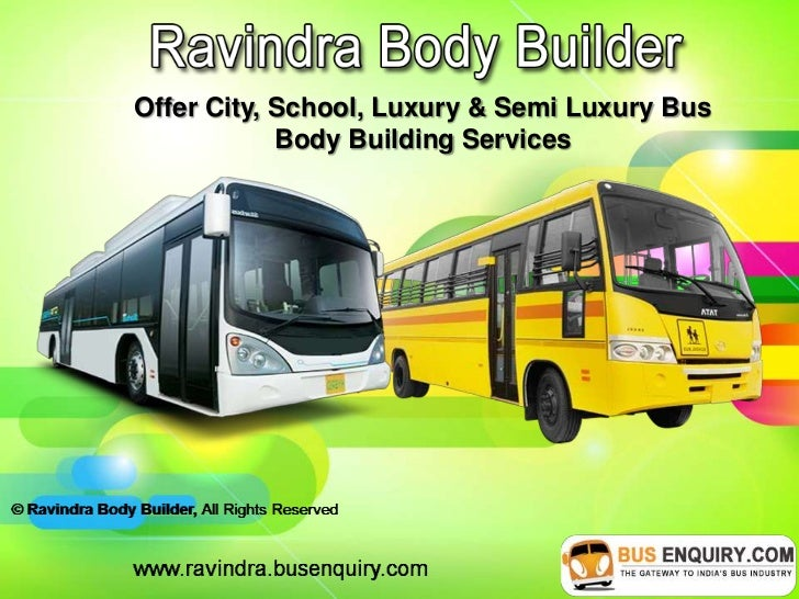 Offer City, School, Luxury & Semi Luxury Bus            Body Building Services