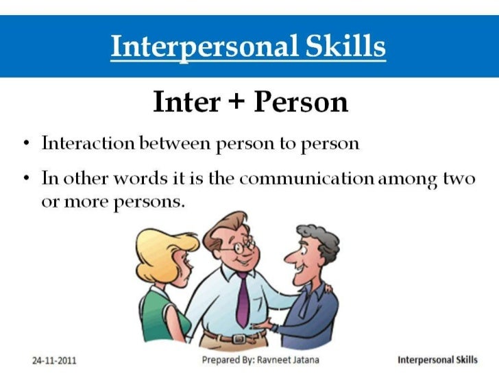 definition interpersonal skills
