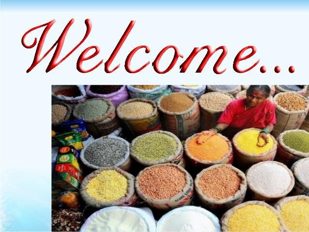 PresentationPresentation ONON FOOD SECURITY IN INDIA Prepared byPrepared by RAVI SHREY Ph.D. Scholar, Agricultural Economi...