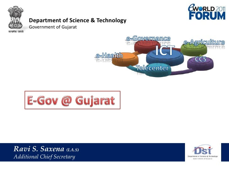 Department of Science & Technology<br />Government of Gujarat<br />e-Governance<br />e-Agriculture<br />ICT<br />e-Health<...