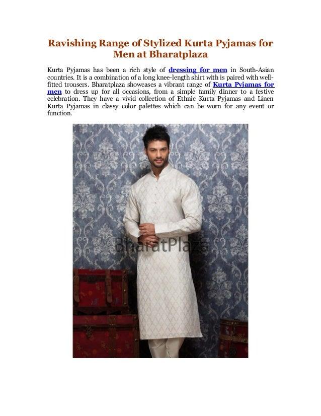 Ravishing range of stylized kurta pajamas for men