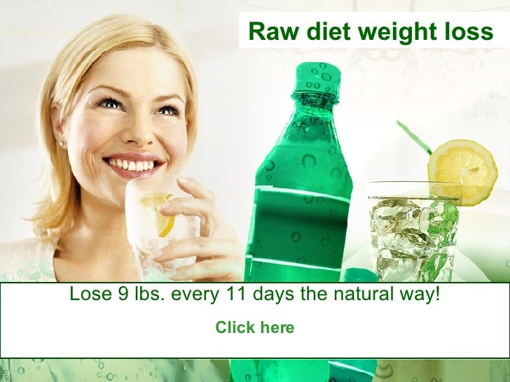 Raw diet weight loss