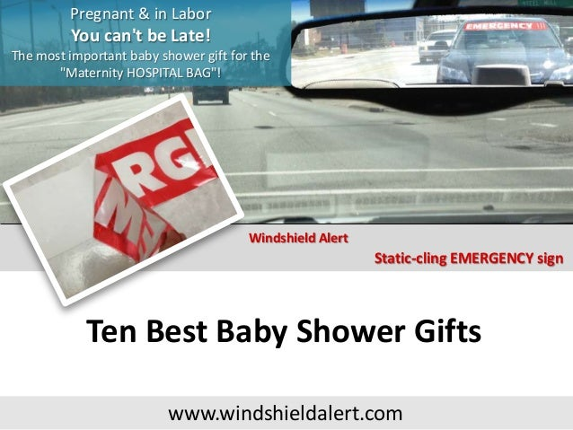Ten Best Baby Shower Gifts