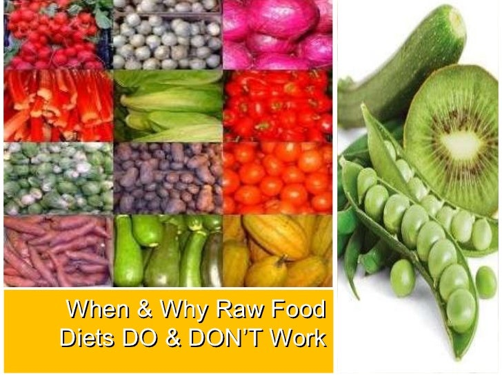 When and Why Raw Food Diets Do And Dont Work