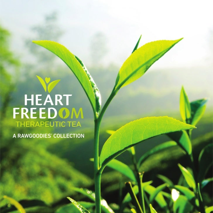 RawGoodies® Heart Freedom Therapeutic Tea Collection