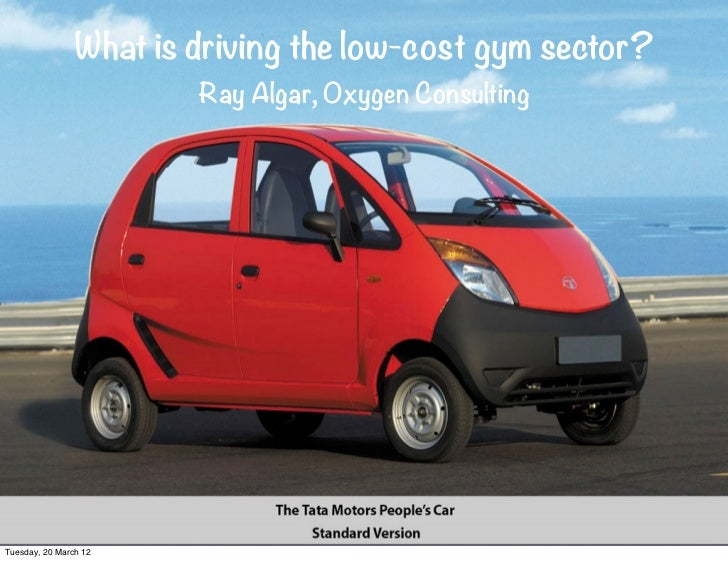 What is driving the low-cost gym sector?                       Ray Algar, Oxygen ConsultingTuesday, 20 March 12