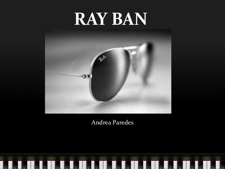RAY BAN Andrea Paredes