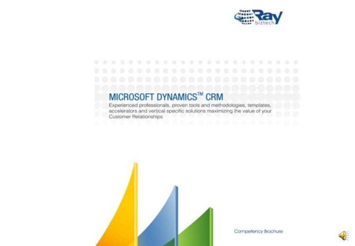 Microsoft Dynamics CRM Brochure