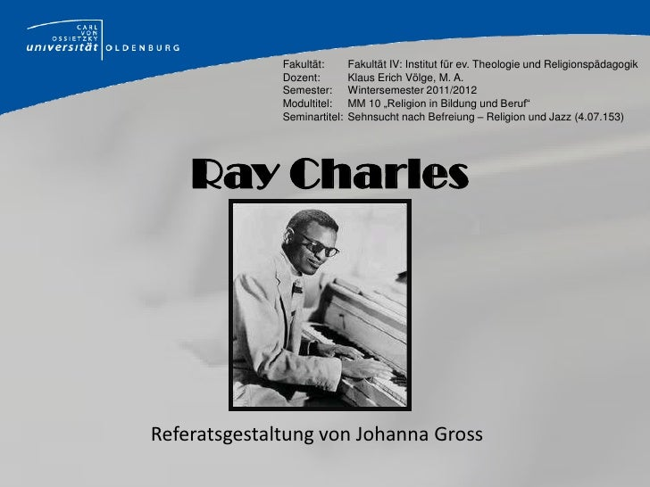 Fakultät:       Fakultät IV: Institut für ev. Theologie und Religionspädagogik              Dozent:         Klaus Erich Vö...