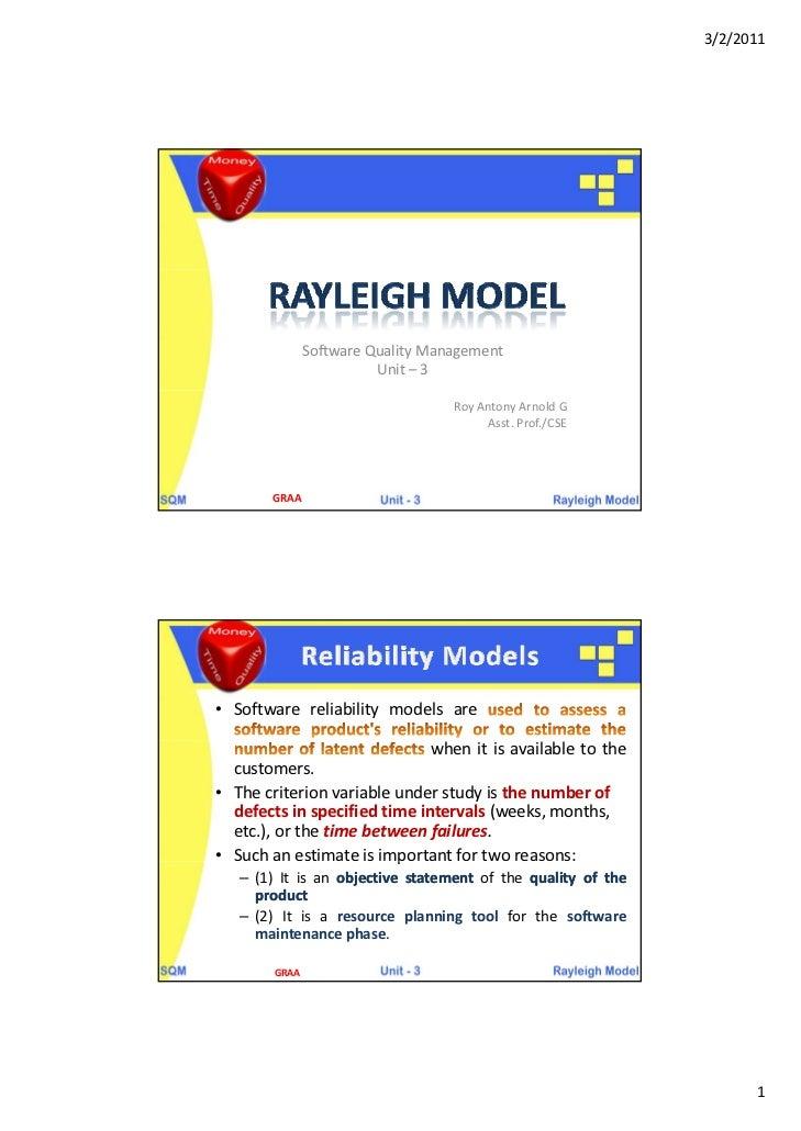 3/2/2011               SoftwareQualityManagement                         Unit– 3                                   Roy...