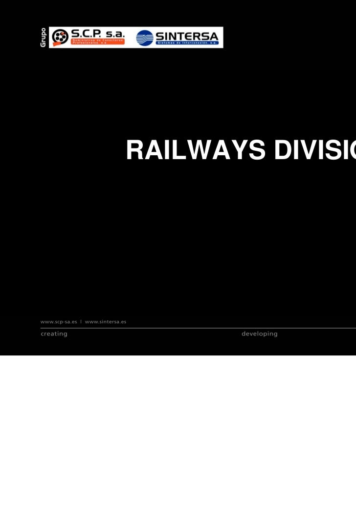 RAILWAYS DIVISIONRAILWAYS DIVISION
