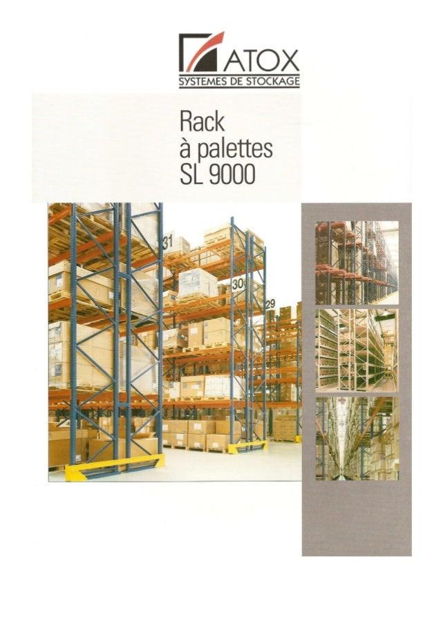 Rayonnages metalliques-rack-palettes-sl-9000