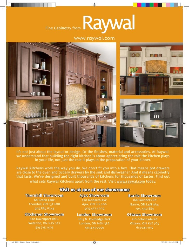 Fine Cabinetry from                                     www.raywal.com     It's not just about the layout or design. Or th...