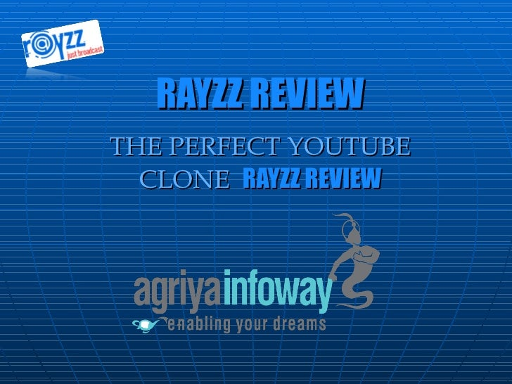 RAYZZ REVIEW THE PERFECT YOUTUBE CLONE  RAYZZ REVIEW