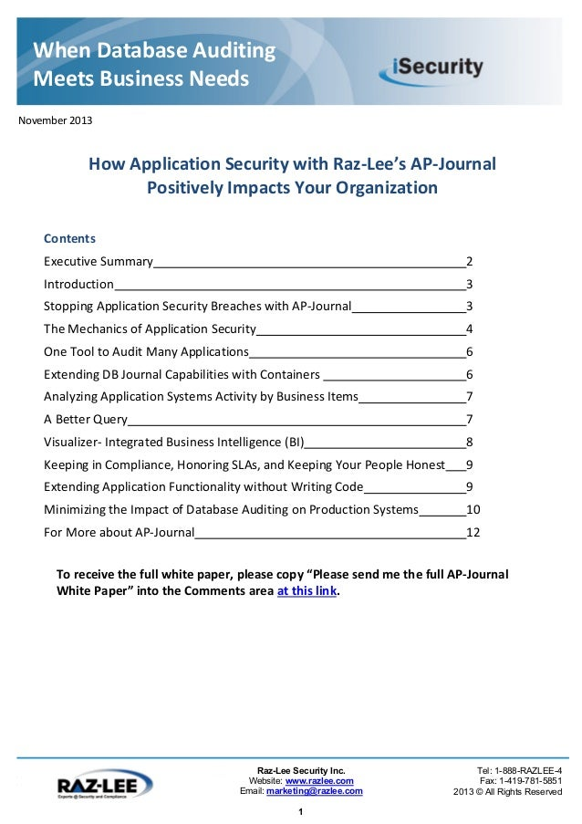 Dissertation On Security Breach