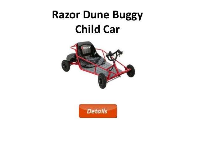 razor dune buggy child car