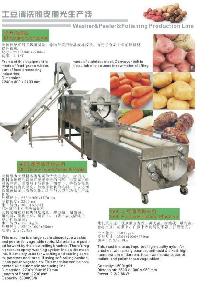M quinas lavado peladoras de jengibre equipos para cocina for Herramientas de cocina industrial