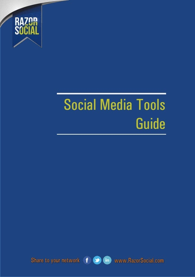 Razor social social media tools guide