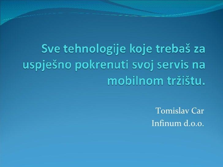 Razvoj Aplikacija Za Mobilne Telefone