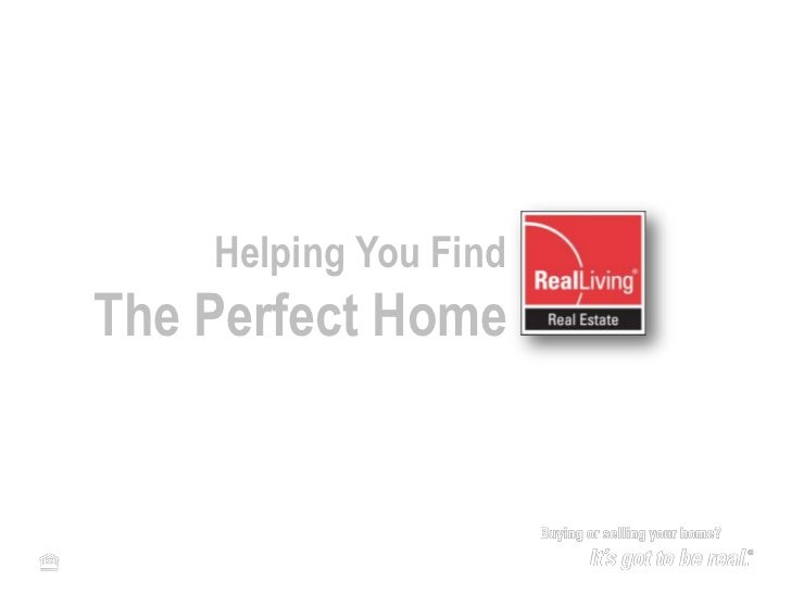 Buyer Presentation for Real Living