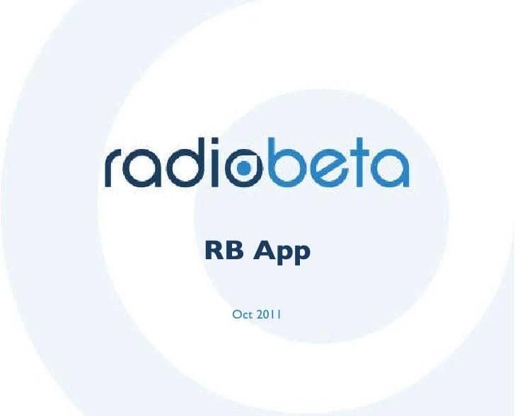 RB App Oct 2011
