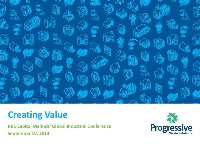 RBC Capital Markets' Global Industrials Conference
