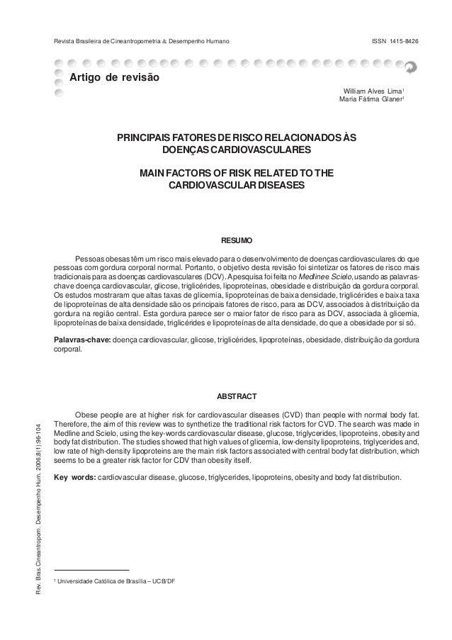 Revista Brasileira de Cineantropometria & Desempenho Humano & Glaner                                                      ...