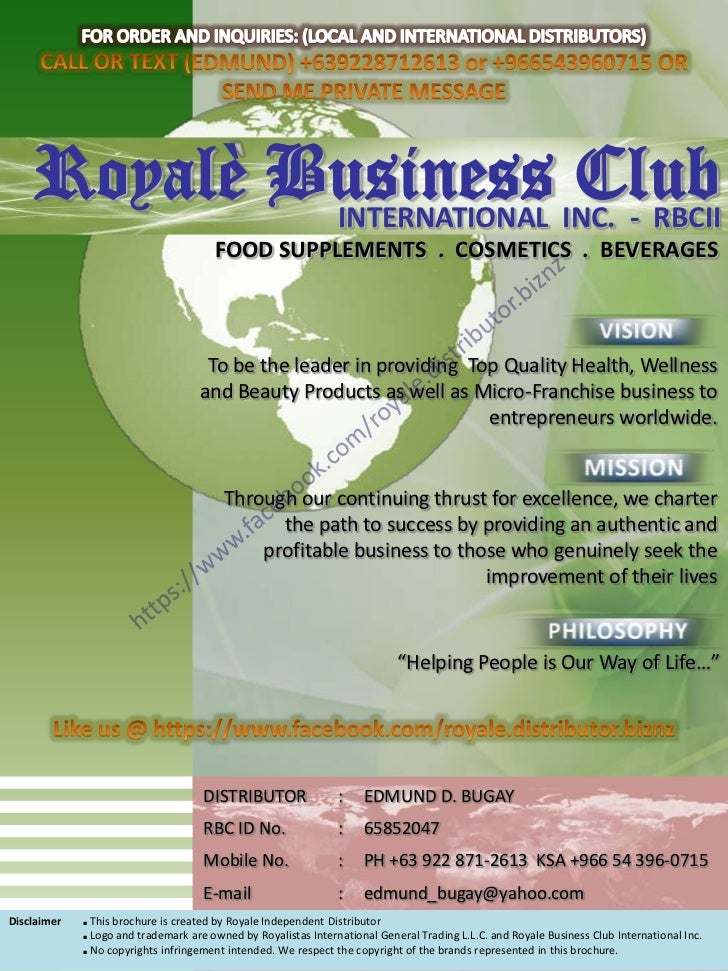 Royale Business Club Marketing Plan