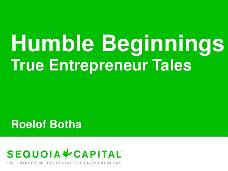 Roelof Botha Keynote: eBootcamp 4/8/2010