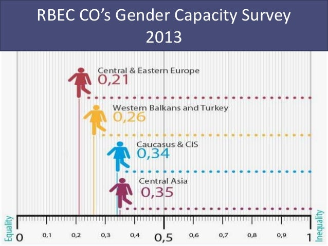 Rbec country offices  gender survey 2013