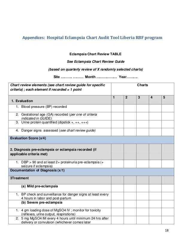 home medication review template - medical chart audit template