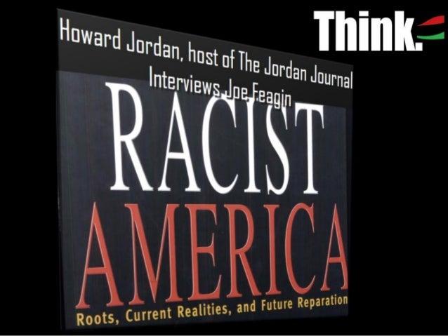 RBG  Howard Jordan, host of The Jordan Journal Interviews Joe Feagin