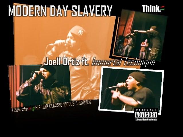 RBG| MODERN DAY SLAVERY, Joell Ortiz ft Immortal Technique