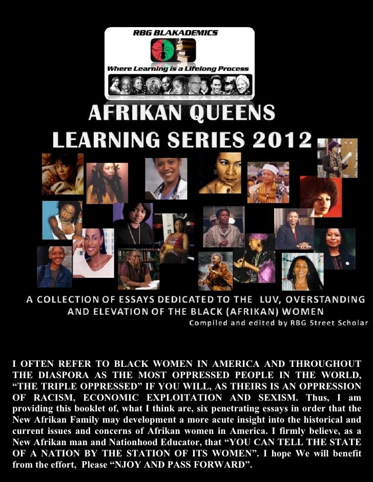 RBG AFRIKAN QUEENS LEARNING SERIES 2012