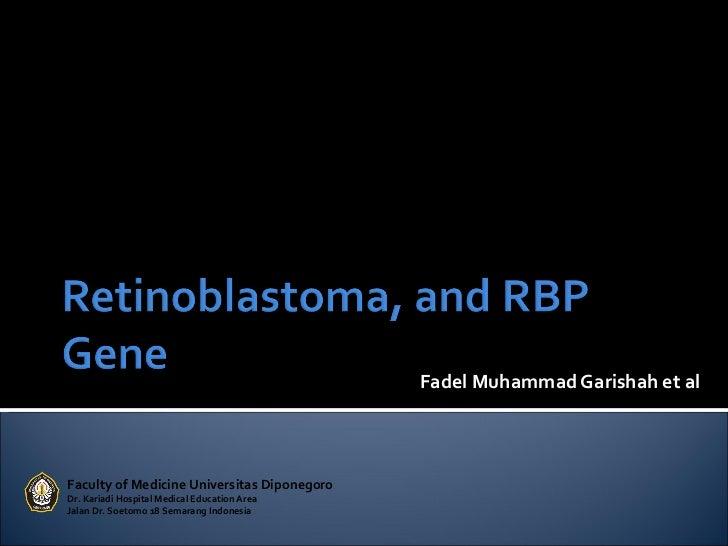 Fadel Muhammad Garishah et alFaculty of Medicine Universitas DiponegoroDr. Kariadi Hospital Medical Education AreaJalan Dr...