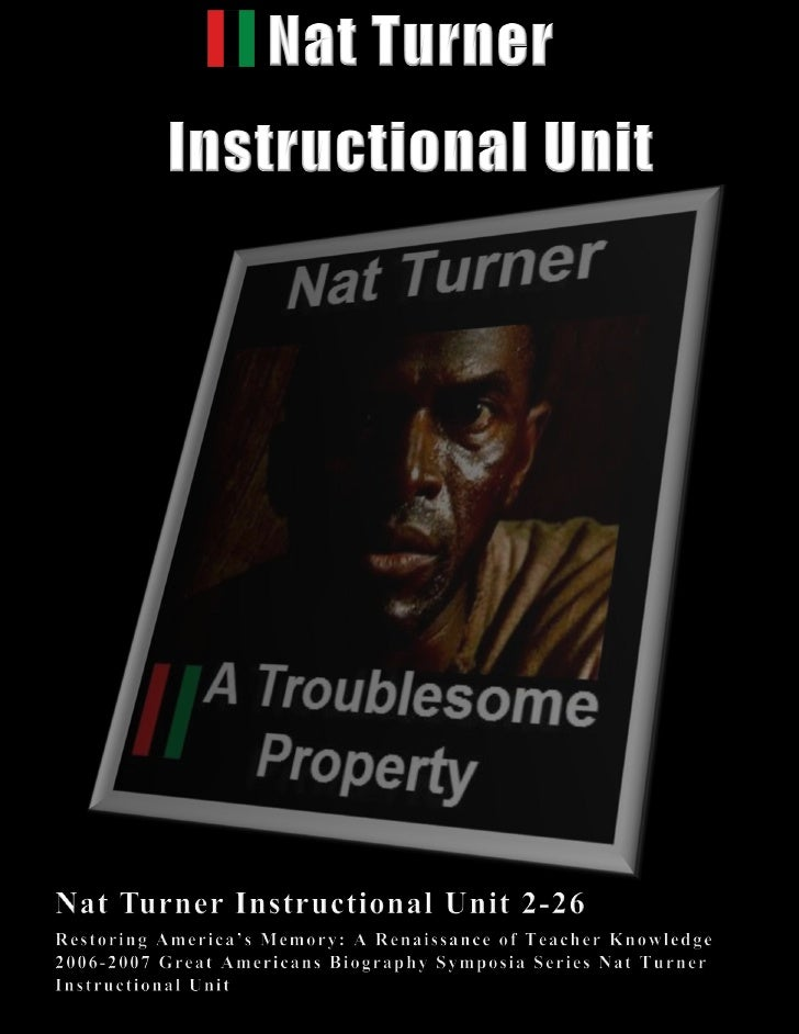RBG Nat Turner Instructional Unit