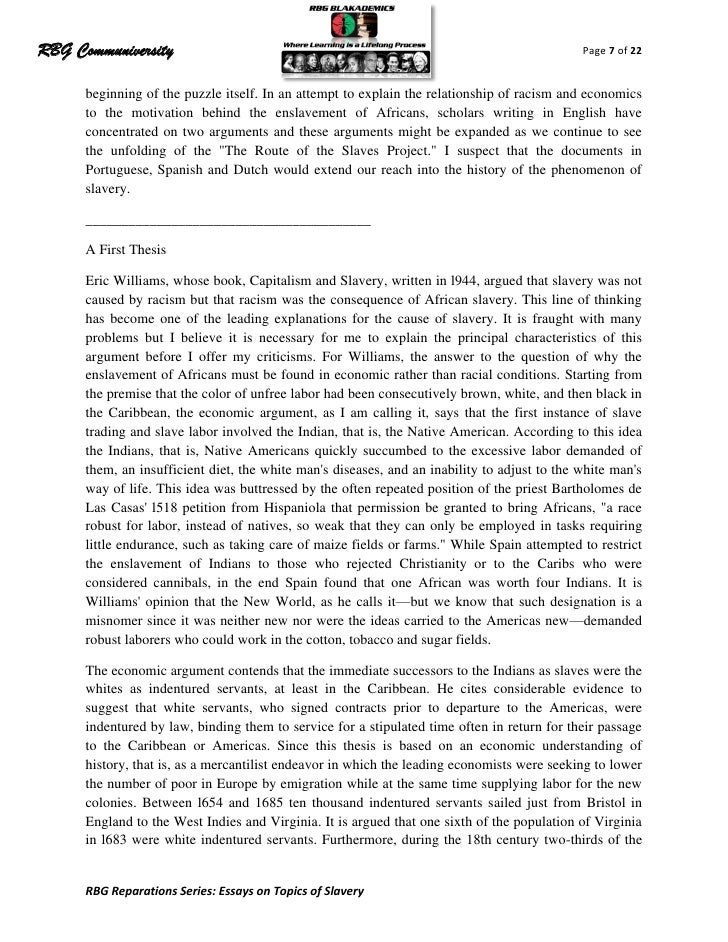 argumentative thesis on slavery Slavery argumentative - slavery is in the past my account preview preview slavery is in the past essay no works slavery essays] 863 words (25 pages).