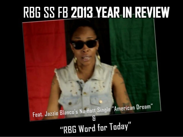 RBG SS FB 2013 YEAR IN REVIEW