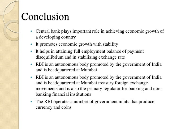 conclusion economic growth essay