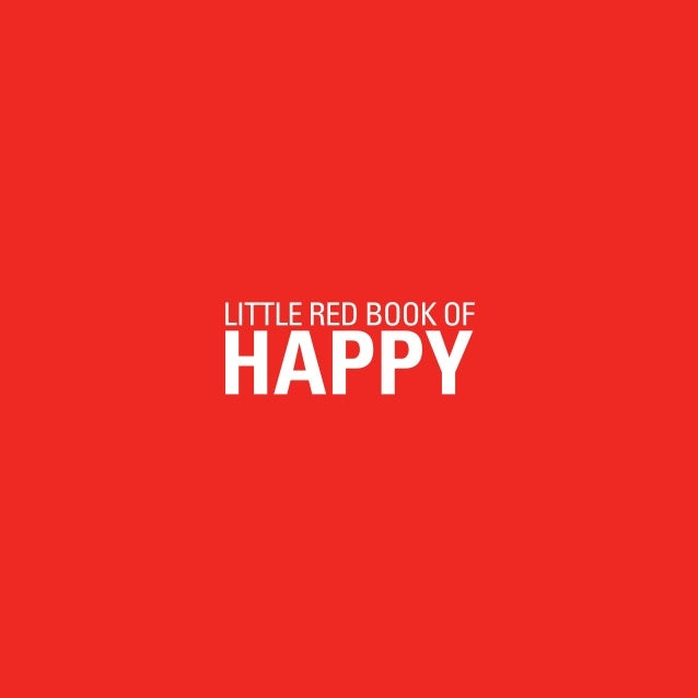Little RED BOOK OF HAPPY1