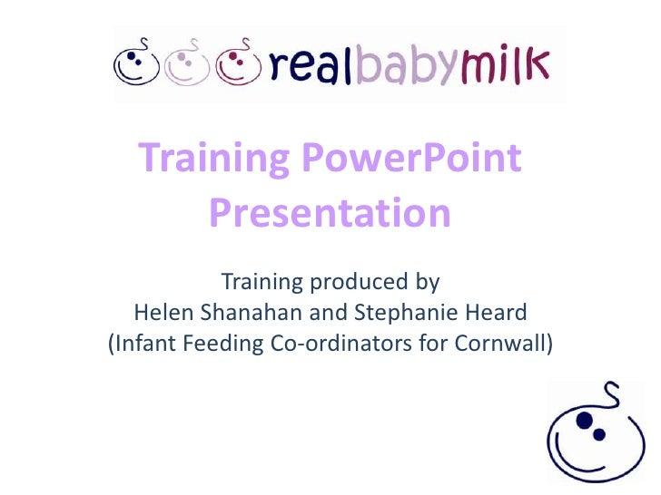 Rbm training powerpoint presentation