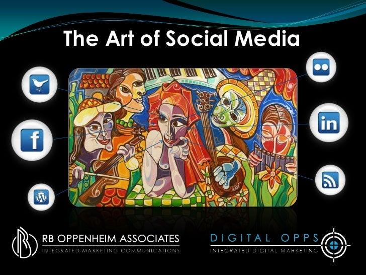 The Art of Social Media<br />