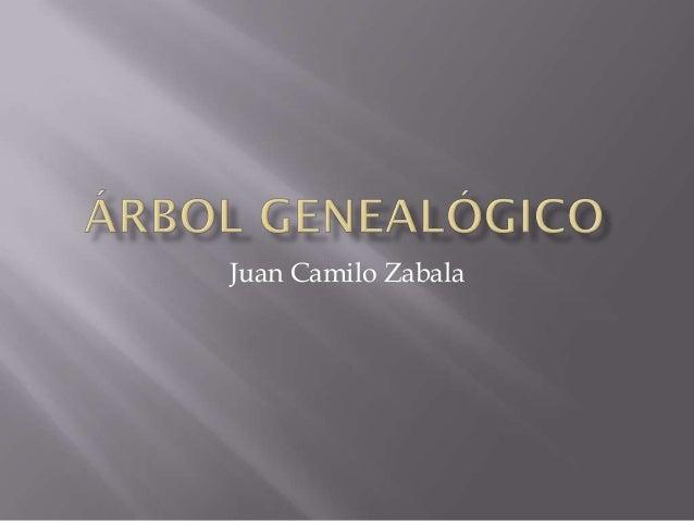 Juan Camilo Zabala