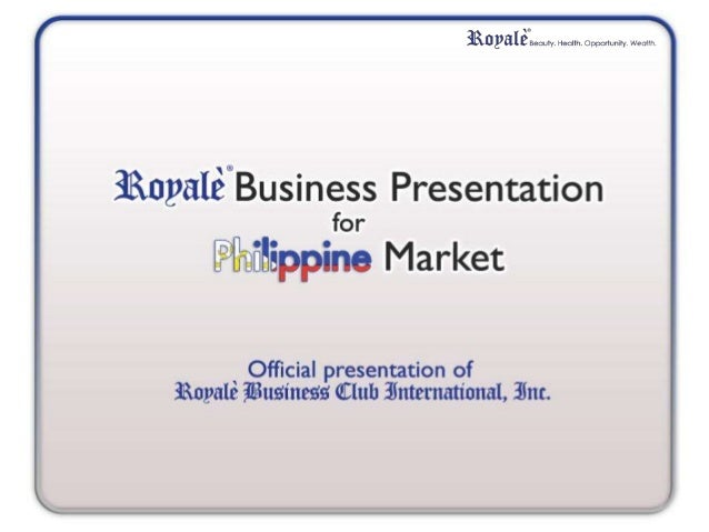 Royalè Business Club International, Inc. (RBCII) A Filipino-owned corporation established in the year 2006 in Quezon City,...