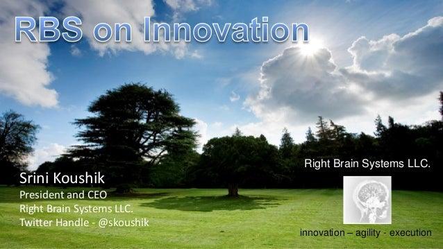 Operationalizing Innovation