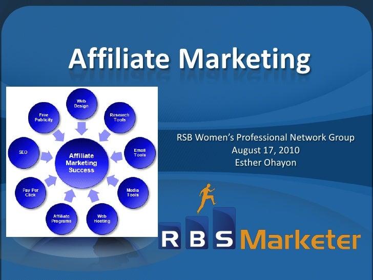 RBS Marketer -Affiliate Marketing