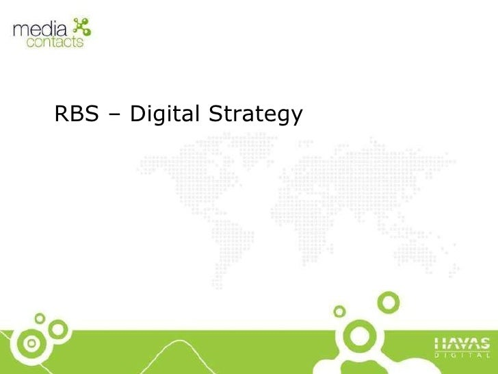 RBS – Digital Strategy
